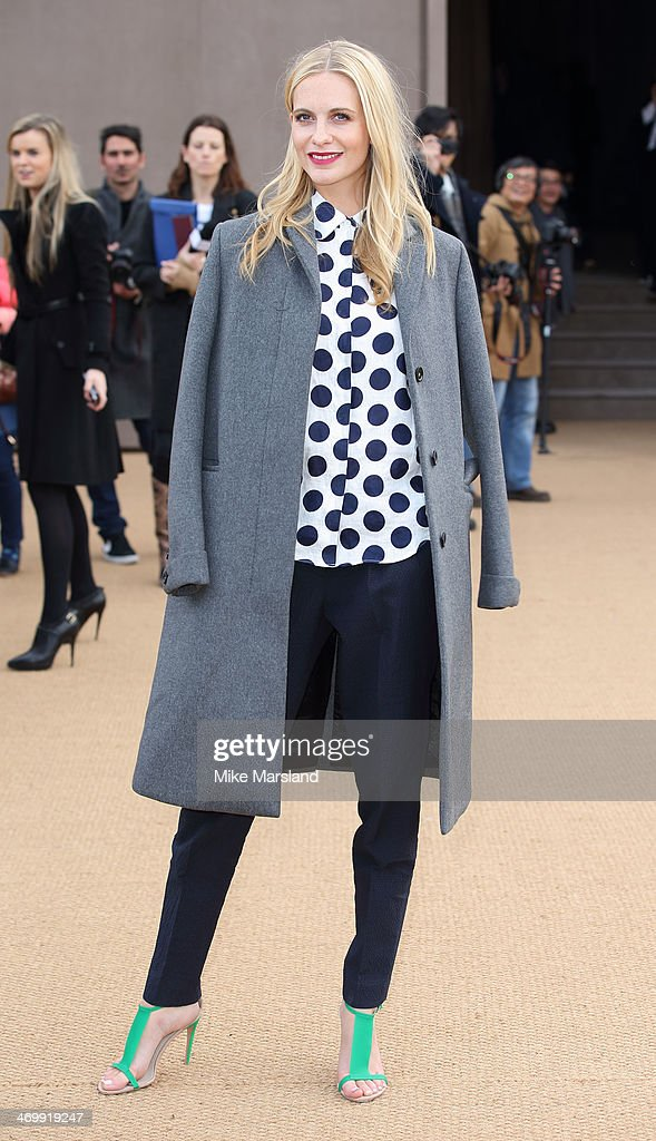 <a gi-track='captionPersonalityLinkClicked' href=/galleries/search?phrase=Poppy+Delevingne&family=editorial&specificpeople=2348985 ng-click='$event.stopPropagation()'>Poppy Delevingne</a> attends the Burberry Prorsum show at London Fashion Week AW14 at on February 17, 2014 in London, England.