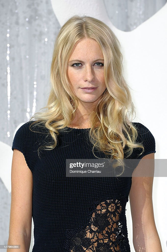 Poppy Delevingne attends the Chanel Ready to Wear Spring / Summer 2012 show during Paris Fashion Week at Grand Palais on October 4, 2011 in Paris, France.