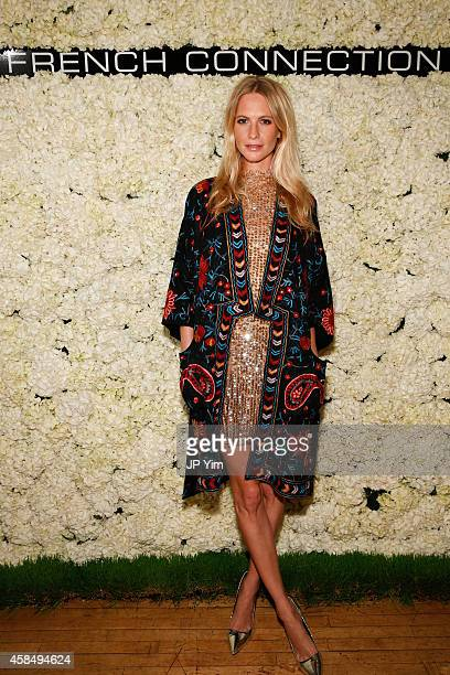 Poppy Delevingne attends the French Connection Spring/Summer 2015 Collection Preview Party at Michelson Studio on November 5 2014 in New York City