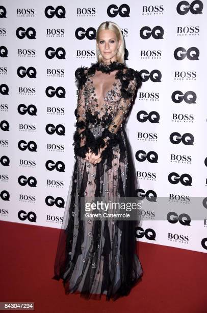 Poppy Delevingne attends the GQ Men Of The Year Awards at the Tate Modern on September 5 2017 in London England