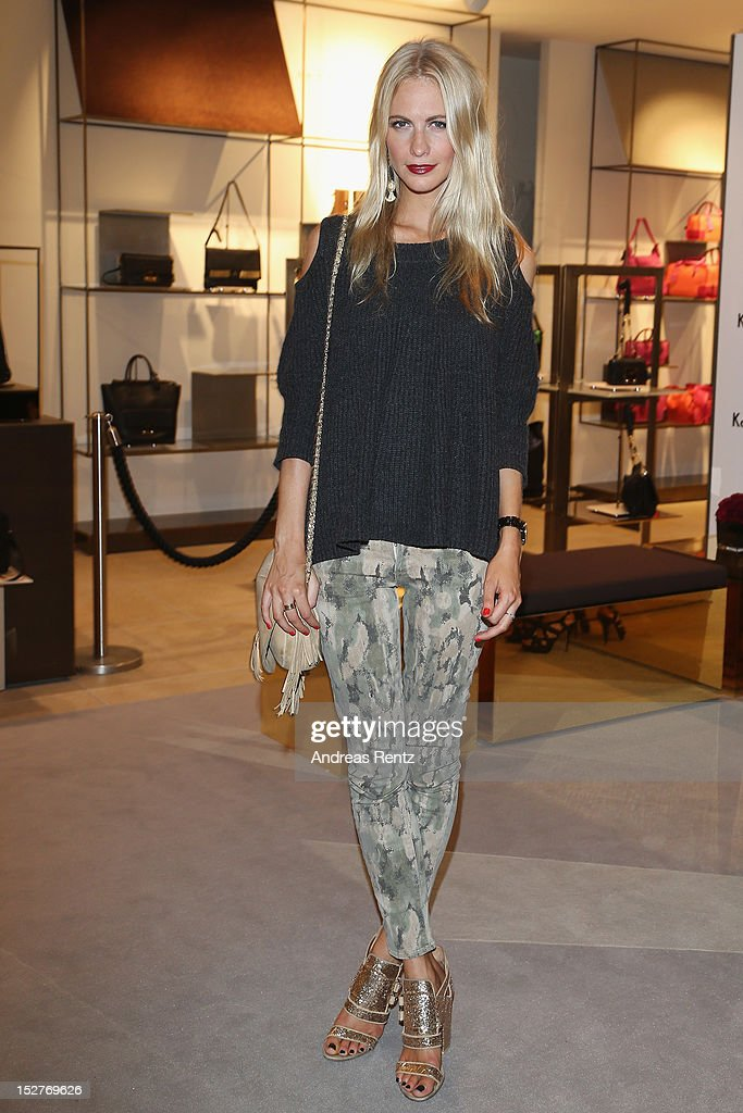 Poppy Delevingne attends the grand opening of 'The New Luxury Beauty The Loft' at KaDeWe department store on September 25 2012 in Berlin Germany