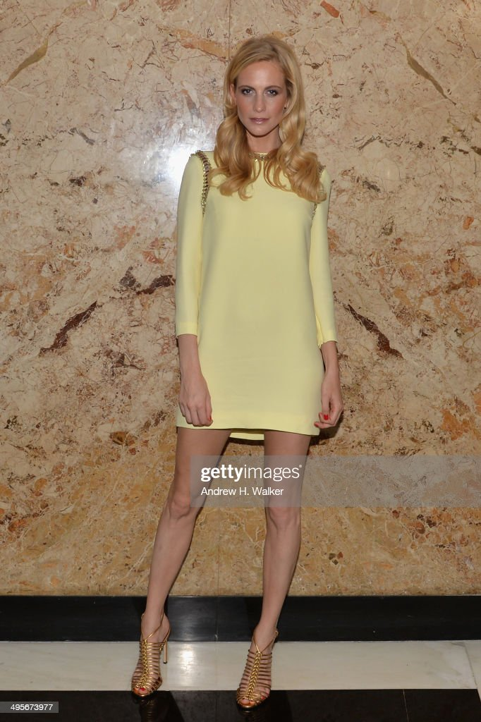 Poppy Delevingne attends the Gucci beauty launch event hosted by Frida Giannini on June 4, 2014 in New York City.