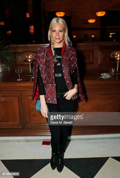 Poppy Delevingne attends the launch of The Ned London on April 26 2017 in London England