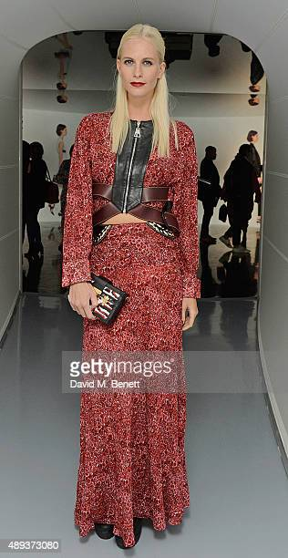Poppy Delevingne attends the Louis Vuitton Series 3 VIP launch during London Fashion Week SS16 on September 20 2015 in London England