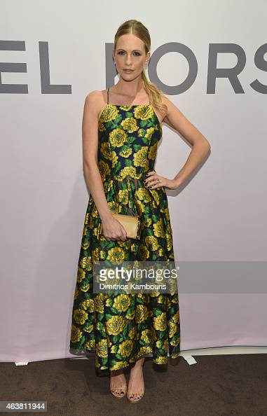 Poppy Delevingne attends the Michael Kors Miranda Eyewear Collection Event on February 18 2015 in New York City