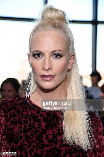 Poppy Delevingne attends the Michael Kors Spring 2016 Runway Show during New York Fashion Week The Shows at Spring Studios on September 16 2015 in...