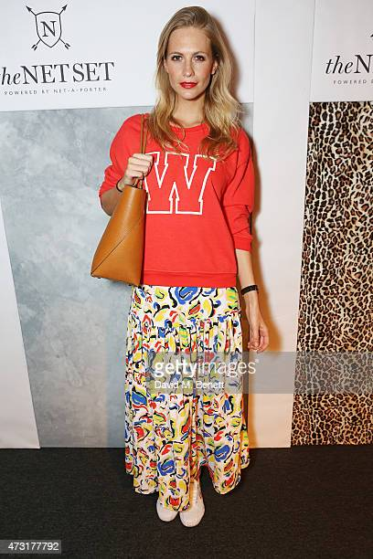 Poppy Delevingne attends The NET SET powered by NETAPORTERCOM launch party on May 13 2015 in London England
