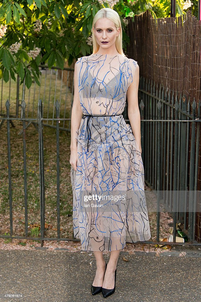 Poppy Delevingne attends the Serpentine Gallery Summer Party at The Serpentine Gallery on July 2 2015 in London England
