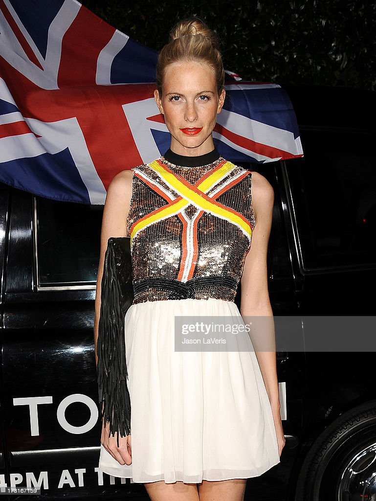 Poppy Delevingne attends the Topshop Topman LA flagship store opening party at Cecconi's Restaurant on February 13, 2013 in Los Angeles, California.