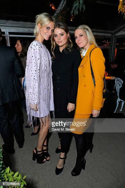 Poppy Delevingne Bea Fresson and Alice Naylor Leyland attend Bottega Veneta's 'The Hand of the Artisan Cocktail Dinner' at Chiswick House And Gardens...