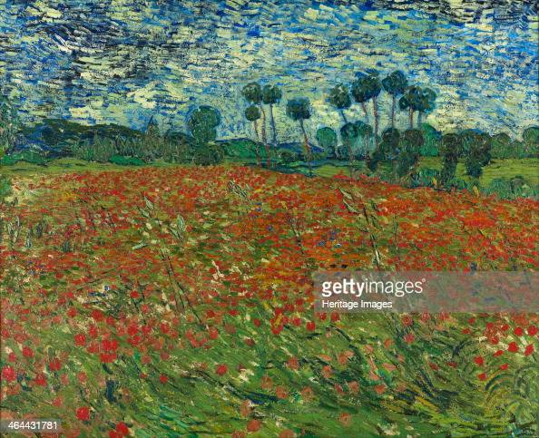 Poppy field 1890 Found in the collection of the Gemeentemuseum Den Haag