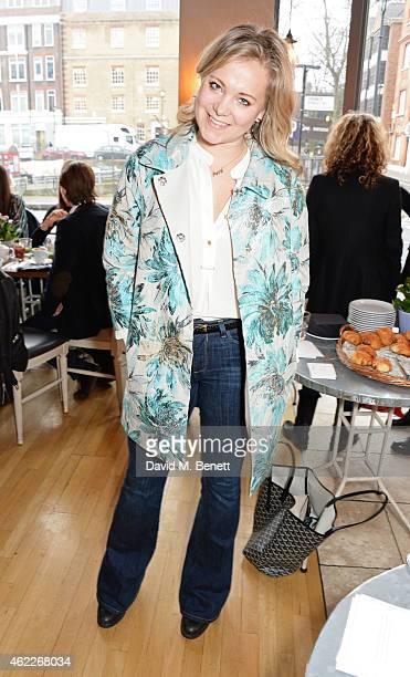 Poppy Jamie attends 'Affirmation Mondays' hosted by Poppy Jamie and Greta Bellamacina at Aubaine on January 26 2015 in London England