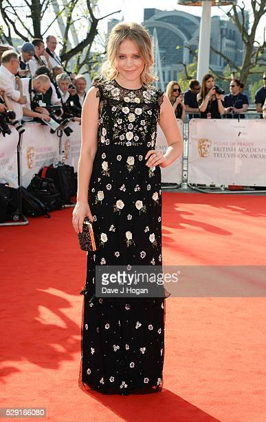 Poppy Jamie attends the House Of Fraser British Academy Television Awards 2016 at the Royal Festival Hall on May 8 2016 in London England