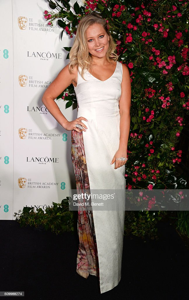 <a gi-track='captionPersonalityLinkClicked' href=/galleries/search?phrase=Poppy+Jamie&family=editorial&specificpeople=10619306 ng-click='$event.stopPropagation()'>Poppy Jamie</a> attends the Lancome BAFTA nominees party at Kensington Palace on February 13, 2016 in London, England.