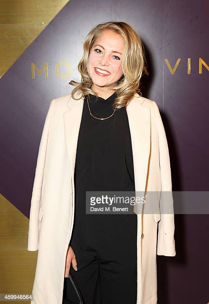 Poppy Jamie attends the Monica Vinader Flagship Store Opening on December 4 2014 in London England