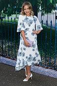 Poppy Jamie attends the Serpentine Gallery Summer Party at The Serpentine Gallery on July 2 2015 in London England