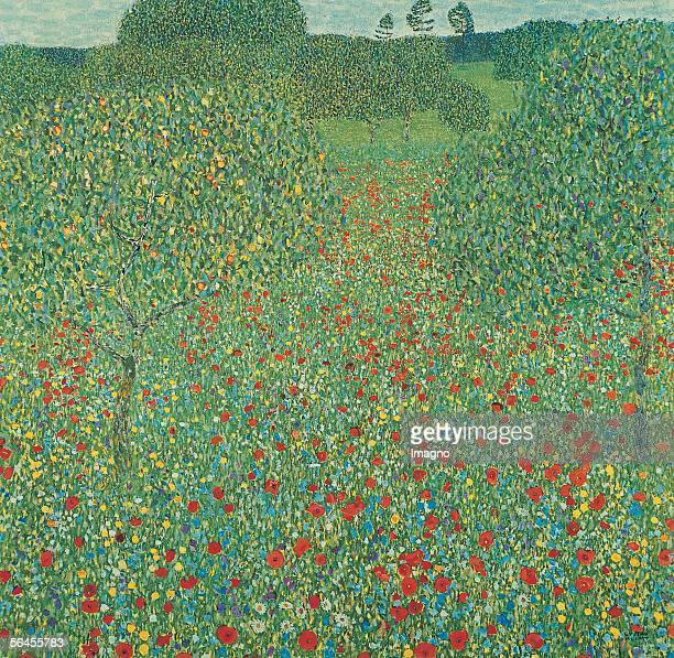 Poppy Meadow D149 Oil on Canvas1907 [Mohnwiese D149 oel auf Leinwand1907]