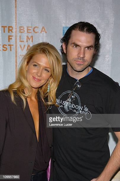 Poppy Montgomery and Paul Schneider during 3rd Annual Tribeca Film Festival 50 Ways To Leave Your Lover New York Premiere at Stuyvesant High School...