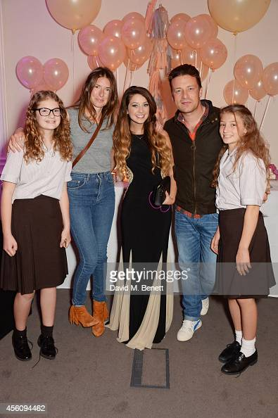 Poppy Oliver Jools Oliver Zoe Sugg Jamie Oliver and Daisy Oliver attend YouTube phenomenon Zoe Sugg's launch of her debut beauty collection at 41...