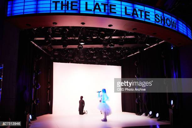 Poppy performs during 'The Late Late Show with James Corden' Friday July 28 2017 On The CBS Television Network
