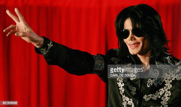 US popstar Michael Jackson addresses a press conference at the O2 arena in London on March 5 2009 Pop megastar Michael Jackson announced Thursday he...