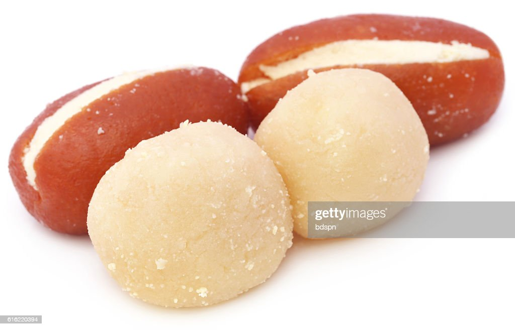 Popular Bangladeshi Sweetmeats : Bildbanksbilder