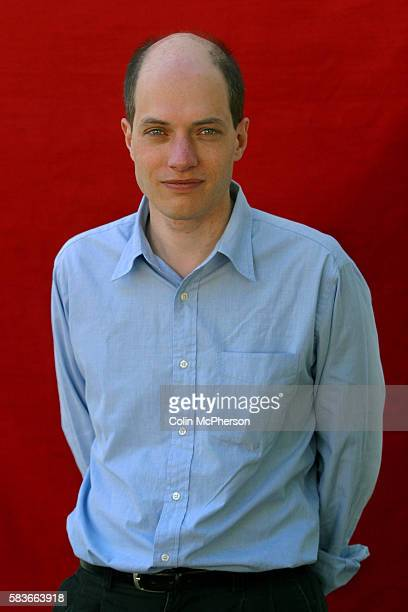 Popular British philosopher Alain de Botton pictured at the Edinburgh International Book Festival where he discussed modern Western society's chances...