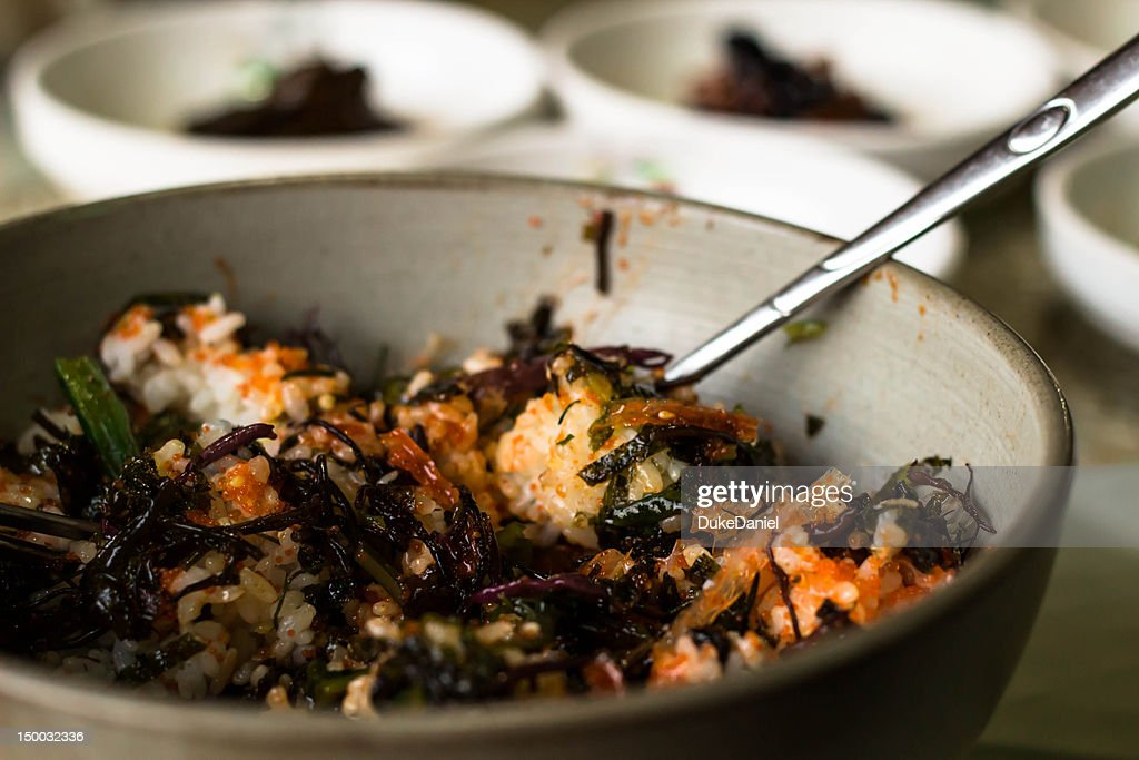 Popular Korean Dish : Stock Photo