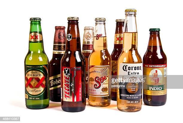 Des bières mexicaines