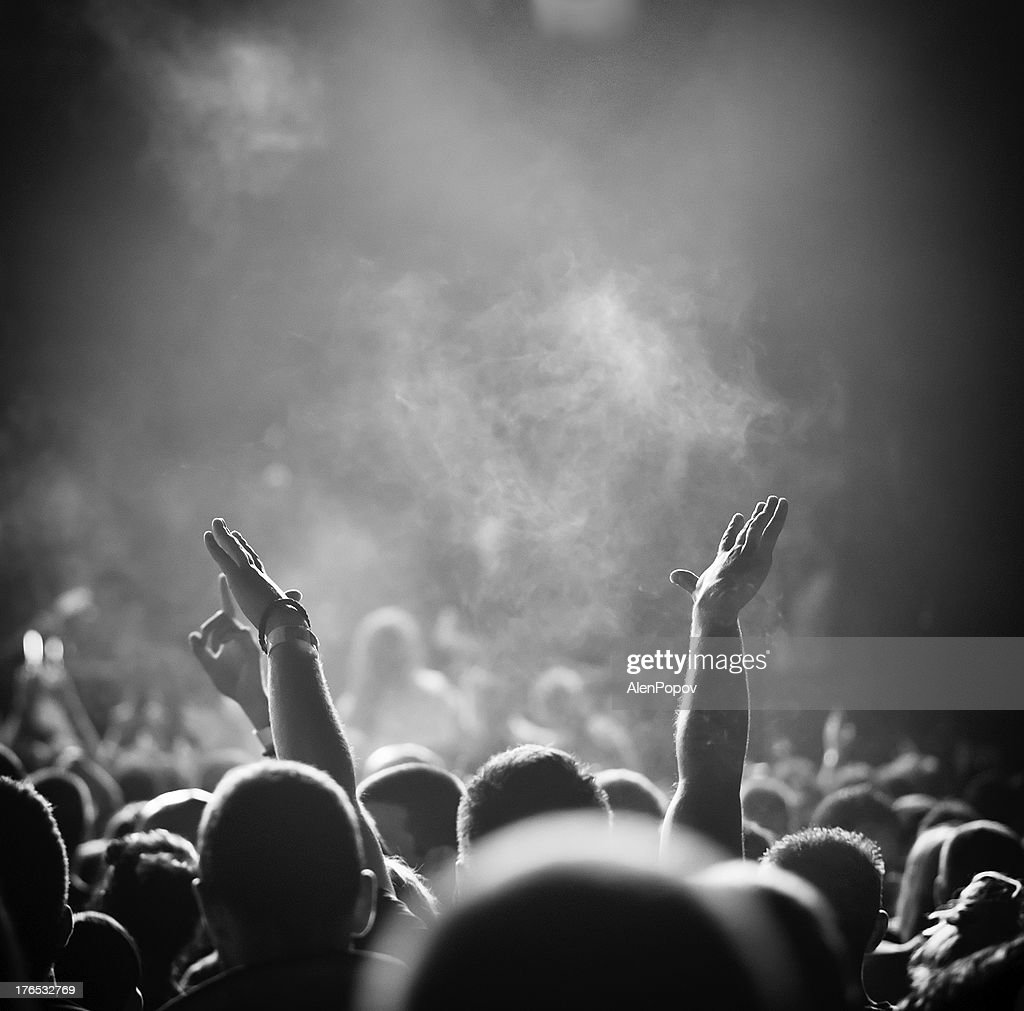 Popular music concert : Stock Photo