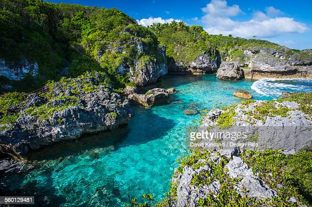 A popular swimming spot on Niue Island