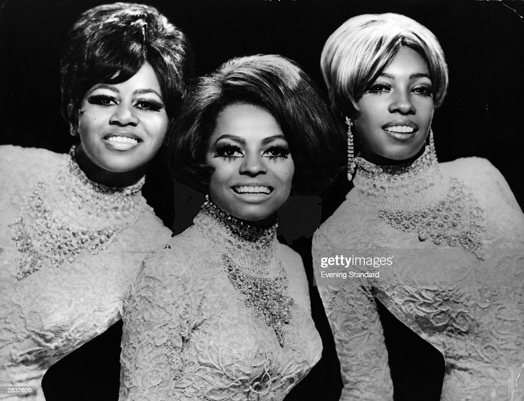 Popular vocal soul group Diana Ross And The Supremes