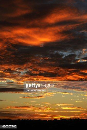 Por do sol : Stock Photo