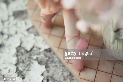 porcelain ballet : Stock Photo