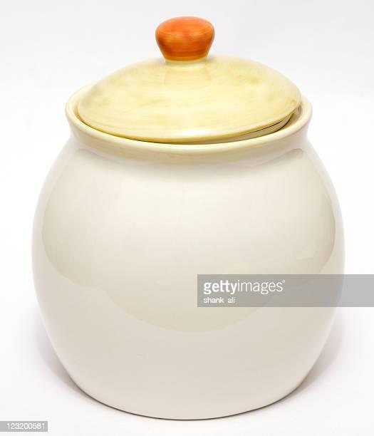 porcelain biscuit barrel