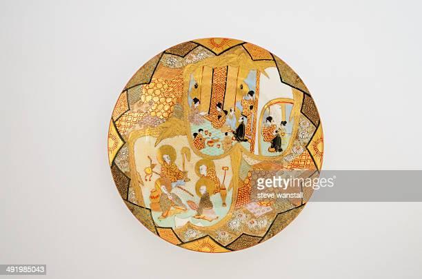 Porcelain plate from Kutani