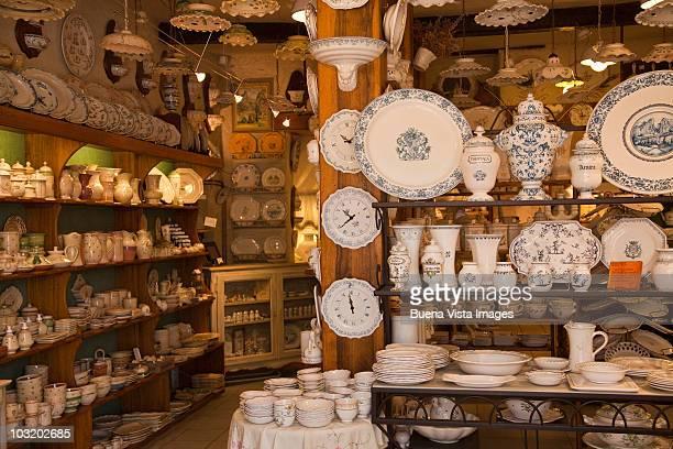 Porcelain shop in Moustiers