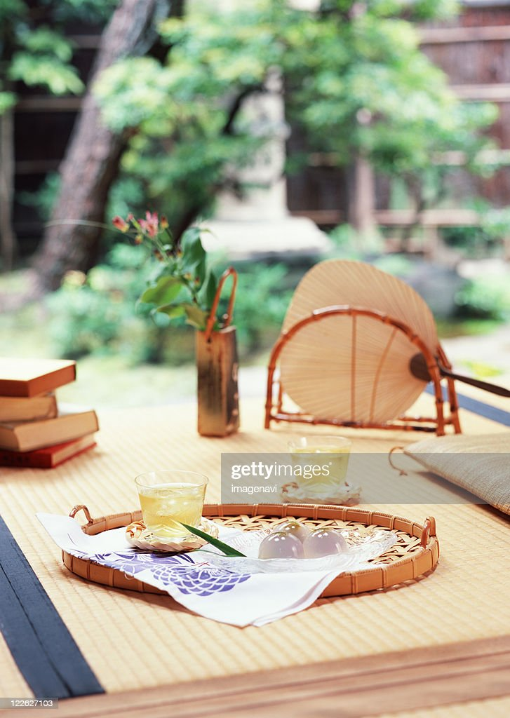 Porch in Japanese style : Stock Photo