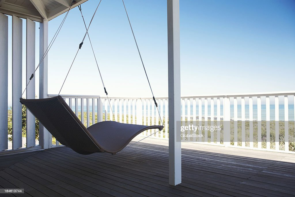Porch swing stock photos and pictures getty images