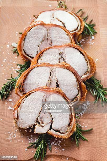 Porchetta with rosemary and pepper crust (Italy)