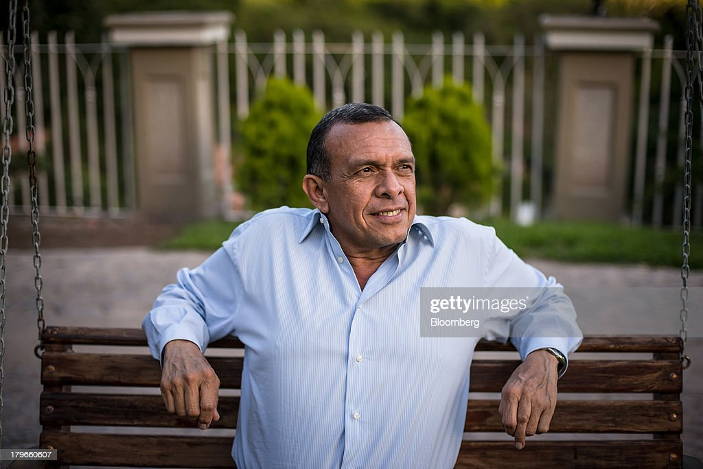 Porfirio Lobo Honduras's president poses for a portrait in Tegucigalpa Honduras on Thursday Sept 5 2013 A 150 percent increase in public sector debt...