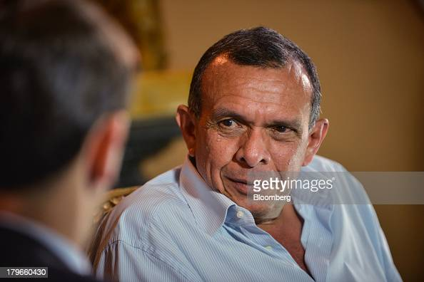 Porfirio Lobo Honduras's president speaks with Bloomberg News reporter Adam Williams during an interview in Tegucigalpa Honduras on Thursday Sept 5...