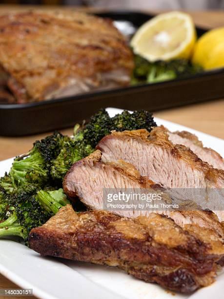 Pork belly dinner