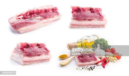 Pork belly : Stock Photo