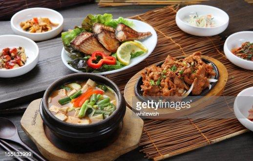Pork bulgogi & Bean Paste Soup