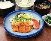 Pork cutlet dish