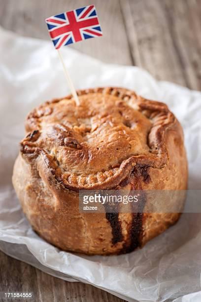 Pork Pie with Union Jack flag