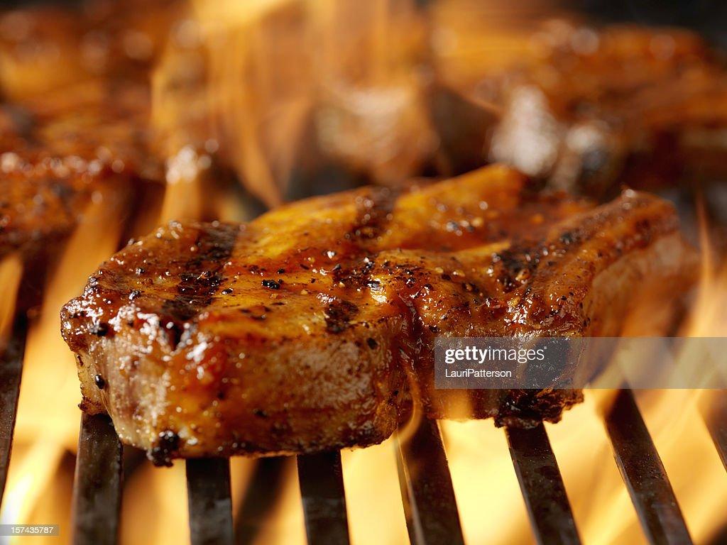 BBQ Pork Rib Chops 2