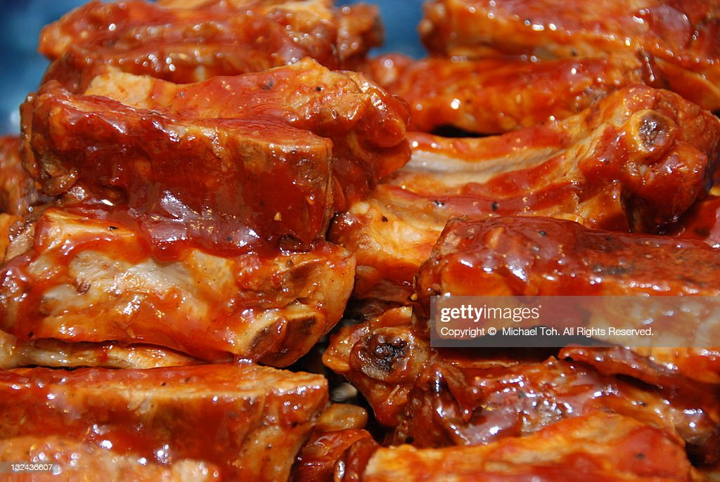 Pork ribs : Stock Photo