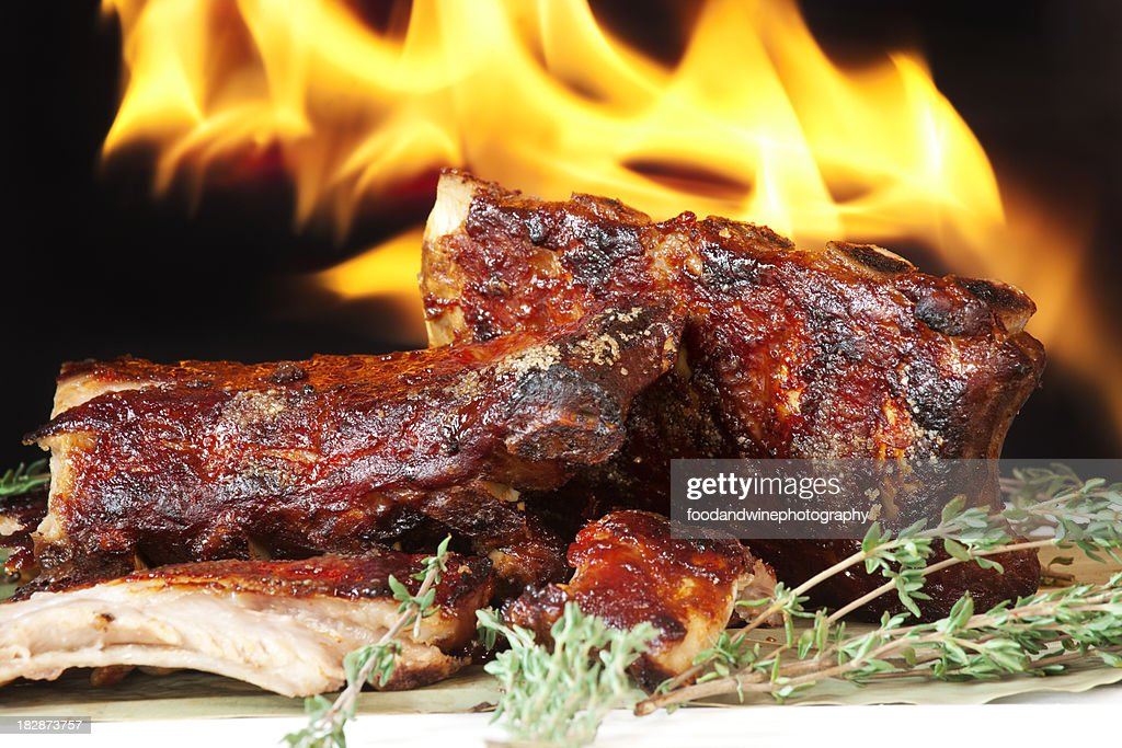 pork ribs : Stock Photo